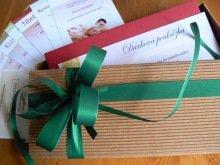 vánoční dárkové poukazy na masáže
