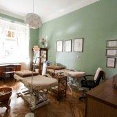 Masážní salon Aeditus interiér